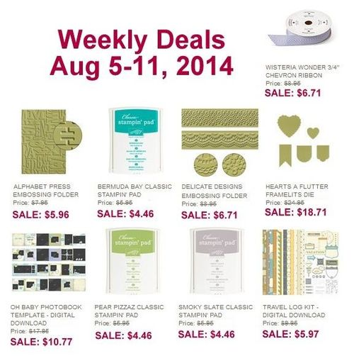 Weekly deal 8:5-11
