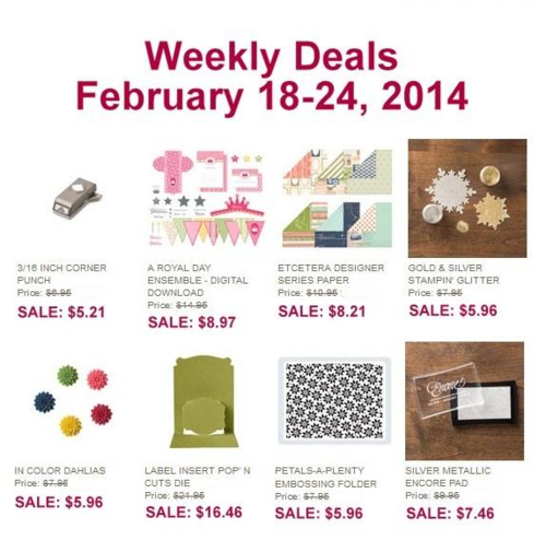 Feb 18 weekly deals