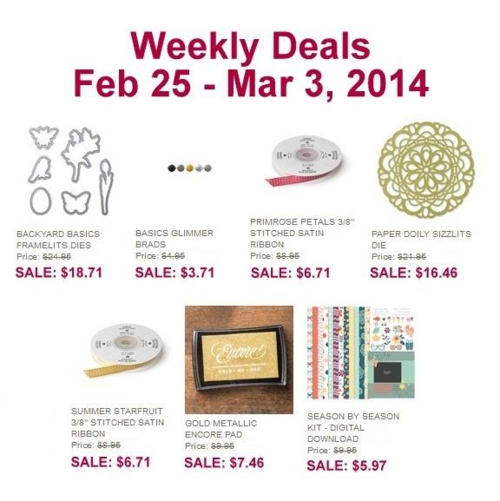 Weekly deals Feb 25-march3