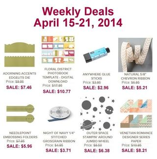 Weekly deal 4:15
