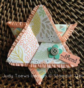 Stamp Ladies Fun Fold Swap Judy