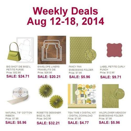 Weekly deal 8:12-8:18