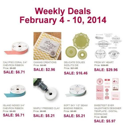 Weekly deal 2-4 thru 2-10