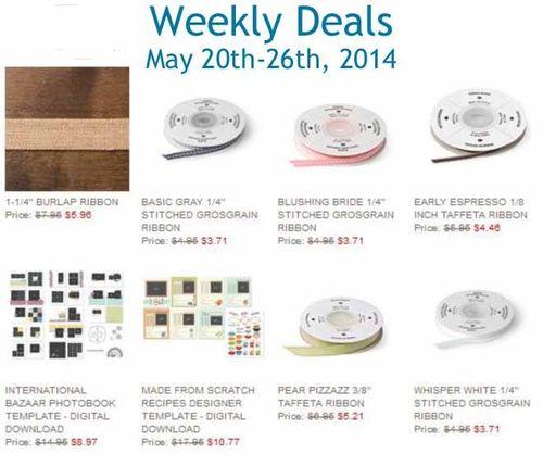 Weekly deal may 20-26