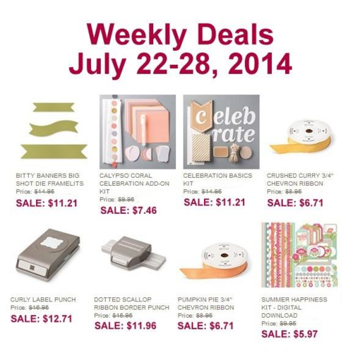 Weekly deal july 22-28