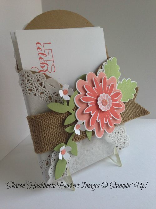 Flower Patch& Gift Card enclosure side