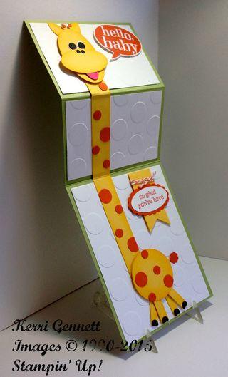 Kerri's giraffe open side