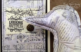 Paper Cloth Bird Sculpture & Card SP