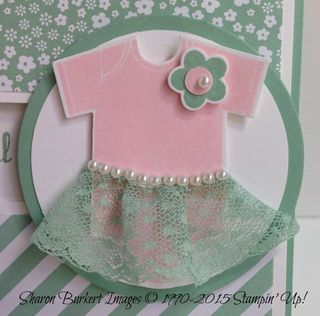 Something for Baby Mint Macaron dress