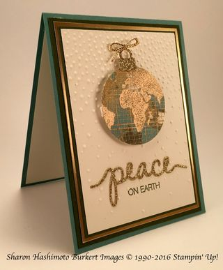 Going GlobalPeace on Earth Gold