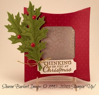 Square Pillow Box Merry Moments DSP stack