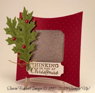Square Pillow Box Merry Moments DSP side 2