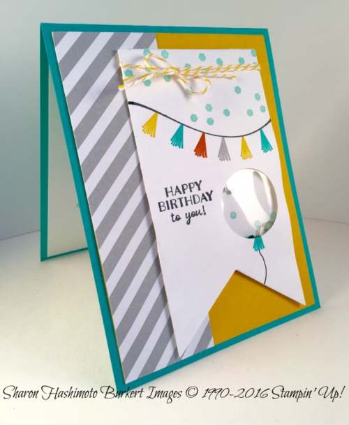 Party Pants shaker card side