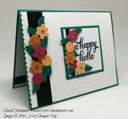 Swirly Bird Bundle, #stampinup, www.sharonburkert.com