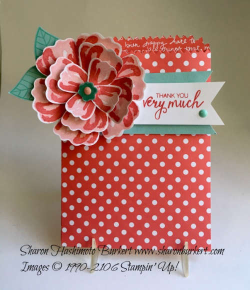 Bunch of Blossoms bundle, www.sharonburkert.com, #stampinup