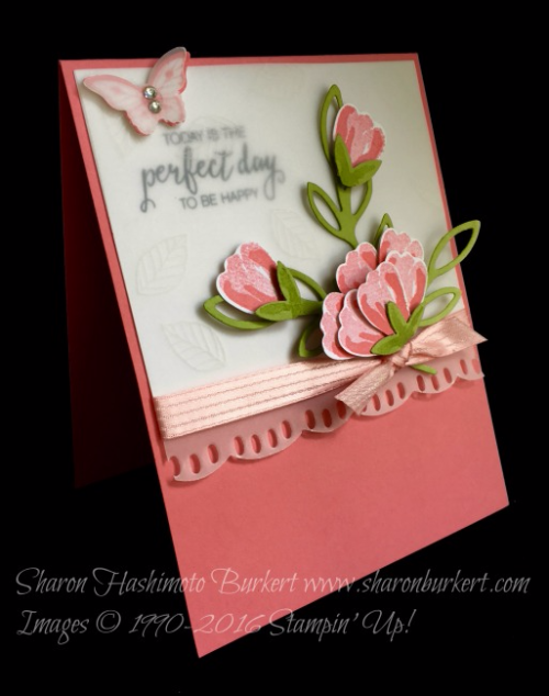 Bunch of Blossoms , www.sharonburkert.com #stampinup