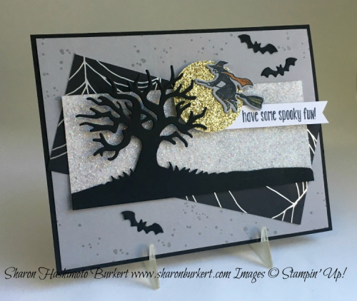 Spooky Fun stamp set, www.sharonburkert.com #stampinup