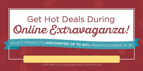 2016 online extravaganza banner