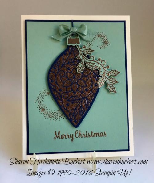 Embellished Ornaments www.sharonburkert.com