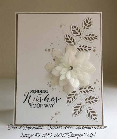 FLourish Thinlits and the Butterfly Basics stamp set