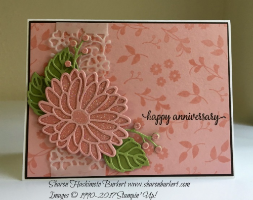 Special Reason and So In Love www.sharonburkert.com #stampinup