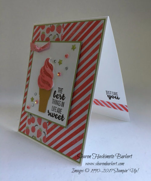 Cool Treats Bundle www.sharonburkert.com #stampinup