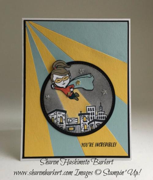 Everyday Hero stamp set www.sharonburkert.com