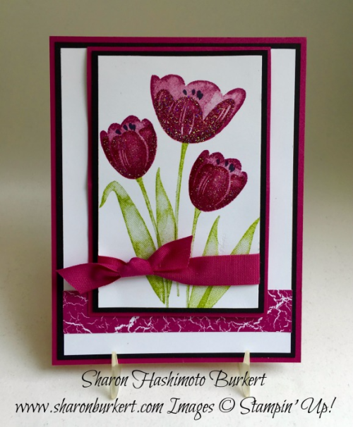 Tranquil Tulips www.sharonburkert.com Berry Burst