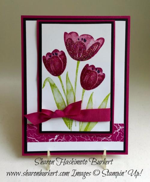 Tranquil Tulips www.sharonburkert.com Berry Burst