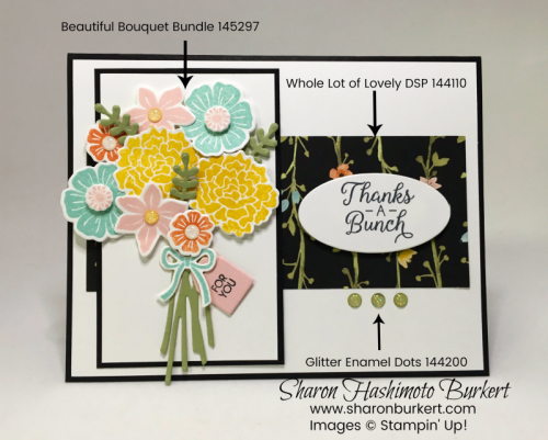 Beautiful Bouquet bundle sww.sharonburkert.com