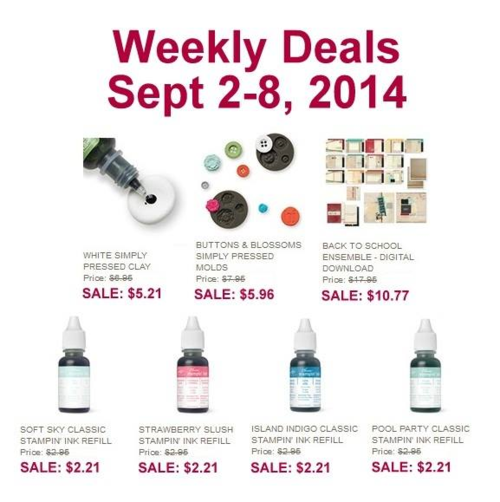 Weekly Deal 9:2:14