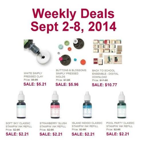 Weekly Deal 9:2:14