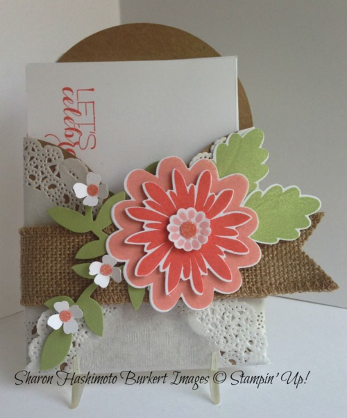 Flower Patch&Gift Card Enclosure
