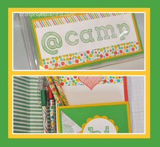 Summer Camp Stationery Set SP