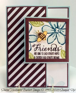 Garden in Bloom latch card