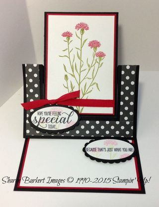 Wild About Flowers easel 3