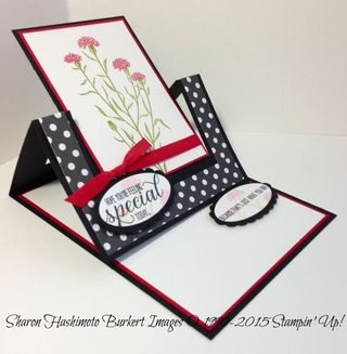 Wild About Flowers easel side