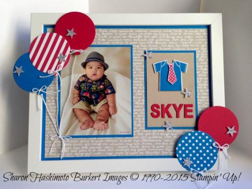 Something for Baby Skye frame
