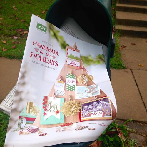 Holiday catalog in mailboxes