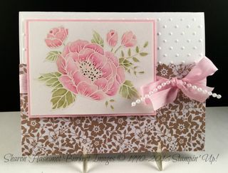 Birthday Blooms Love Blossoms DSP front