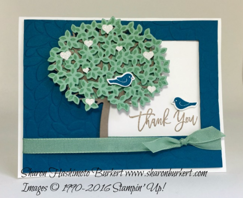 Thoughtful Branches stamp set www.sharonburkert #stampinup