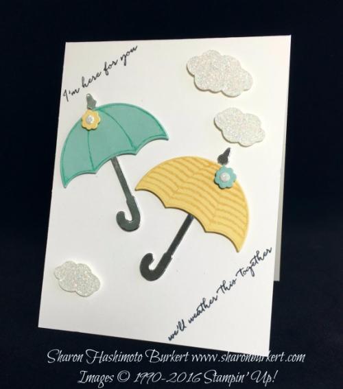 Weather Together stamp set, www.sharonburkert.com