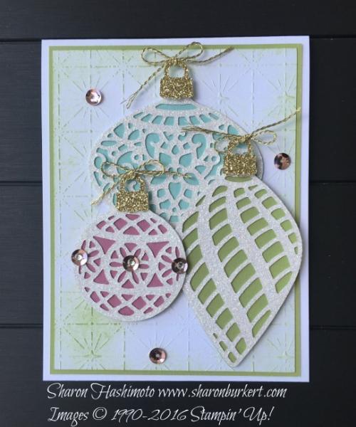 Delicate Ornaments CCMC 428