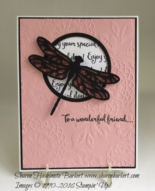 Dragonfly Dreams stamp set www.shaonburkert.com