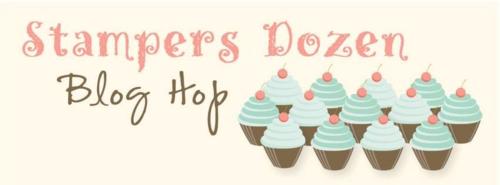 Stamper's Dozen Blog Hop www.sharonburkert.com