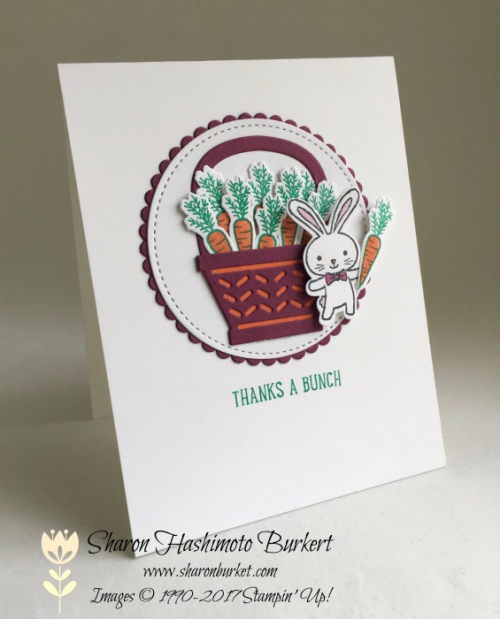 Basket Bunch bundle #stampinup www.sharonburkert.com
