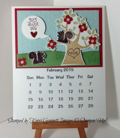 150122 Feb Kerri's calendar