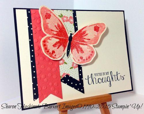 Watercolor Wings & Pretty Petals stack
