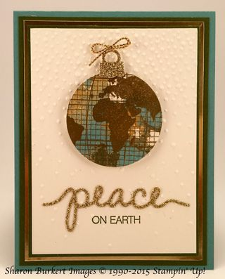 Going Global Peace on Earth Gold