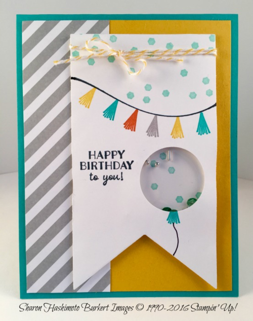 Party Pants Shaker card